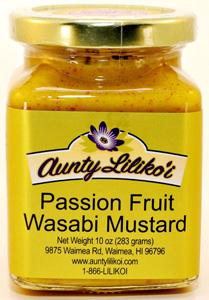 Aunty Lilikoi's Passion Fruit Wasabi Mustard
