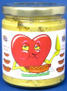 Valentines Day Mustard - Jalapeno (Glass)