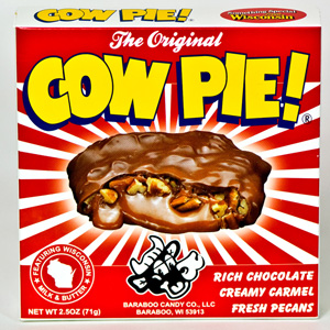 The Wisconsin Cowpie Candy (2.5 Oz)