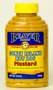 Beaver Coney Island Mustard