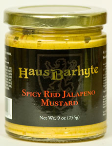 Haus Barhyte Spicy Red Jalapeno Mustard