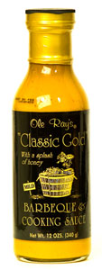 Ole Ray's Classic Gold BBQ Sauce
