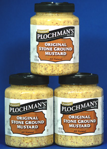 Plochman's Natural Stone Ground - 3 Pack