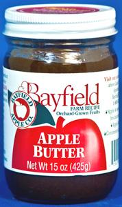 Bayfield Apple Butter