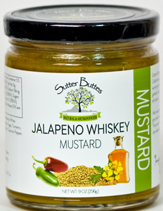 Sutter Buttes Jalapeno Whiskey Mustard