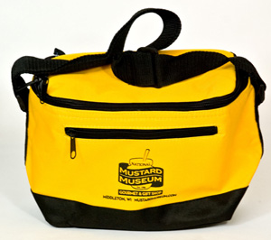 Mustard Museum Six-Pack Cooler Bag