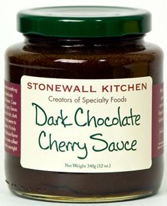 Stonewall Kitchen Dark Chocolate Cherry Sauce