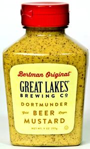 Bertman Original Great Lakes Dortmunder Beer Mustard