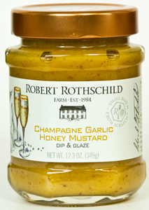 Robert Rothschild Champagne Garlic Honey Mustard Dip & Glaze