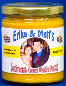 Personalized Mustard - Curry - (Glass - 12 jars)