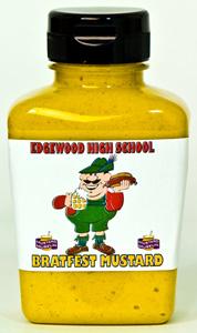 Personalized Mustard - Horseradish - 12 jars (Plastic)