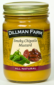 Dillman Farm Smoky Chipotle Mustard