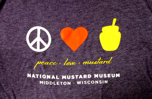 Peace Love Mustard - Long Sleeve T