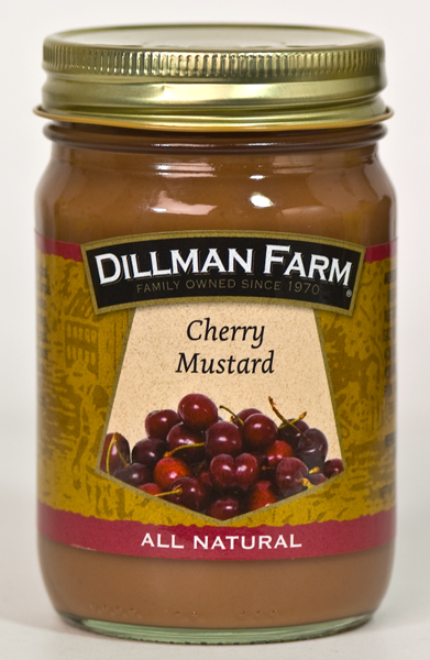 Fruit Mustards - Dillman Farm Cherry Mustard - National Mustard Museum