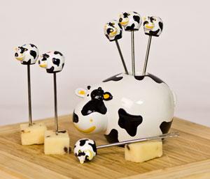 Boska Party Pick Set Cow