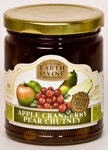 Earth & Vine Apple Cranberry Pear Chutney