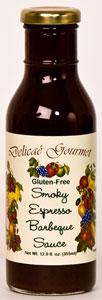 Delicae Gourmet Smoky Espresso BBQ Sauce