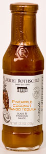 Robert Rothschild Pineapple Coconut Mango Tequila Glaze & Finishing Sauce