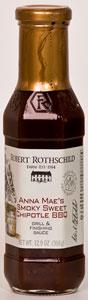 Robert Rothschild Anna Mae's Smoky Sweet Chipotle BBQ Grill & Finishing Sauce