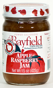 Bayfield Apple Raspberry Jam