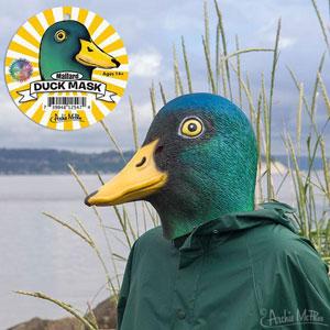 Mallard Duck Mask
