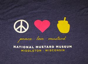 Peace Love Mustard T-Shirt