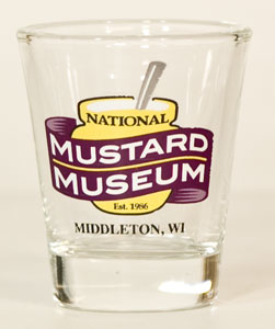 National Mustard Museum Shot Glass