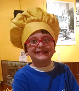 Kids Yellow Chef Hat