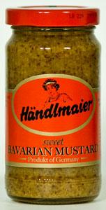 Handlmaier's Sweet Bavarian Mustard 8oz