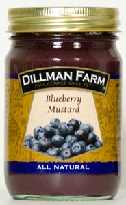 Dillman Farm Blueberry Mustard