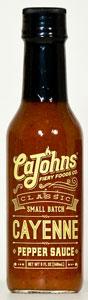 CaJohn's Classic Cayenne Hot Sauce