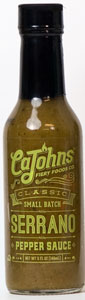 CaJohn's Serrano Hot Sauce