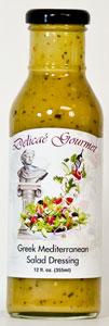 Delicae Gourmet Greek Mediterranean Salad Dressing