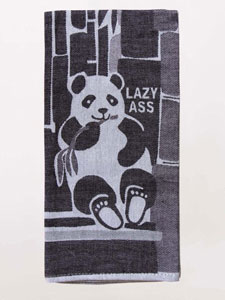 Blue Q Lazy Ass Woven Dish Towel