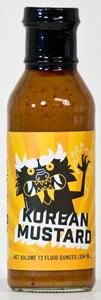 Burnt & Salty Korean Mustard