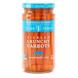 Tillen Farms Pickled Crunchy Carrots