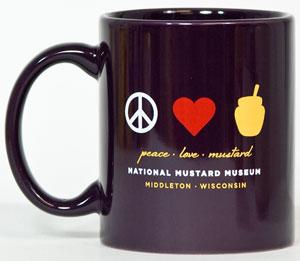 Peace Love Mustard Mug