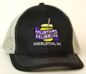 Official Mustard Museum Cap: Classic Trucker Style