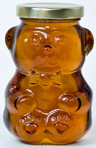 Maple Hollow Maple Syrup in Glass Bear