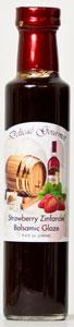 Delicae Gourmet Strawberry Zinfandel Balsamic Glaze