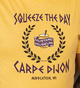 Squeeze the Day, Carpe Dijon T-Shirt