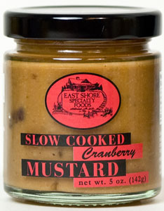 East Shore Cranberry Mustard