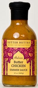 Sutter Buttes Butter Chicken Simmer Sauce