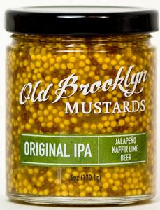 Old Brooklyn Original IPA Mustard