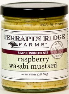 Terrapin Ridge Raspberry Wasabi Mustard