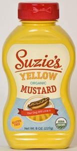 Suzie's Organic Yellow Mustard