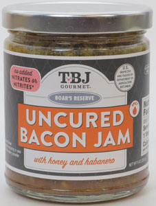 The Bacon Jams Uncured Bacon Jam with Honey and Habanero