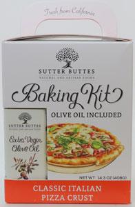 Sutter Buttes Classic Italian Pizza Crust Baking Kit