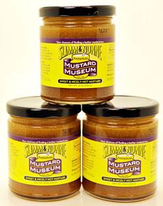 Slimm & Nunne Sweet & Nicely Hot Mustard Three Pack!!