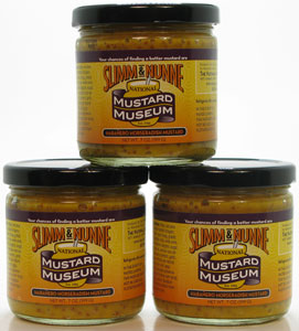 Slimm & Nunne Habanero Horseradish Mustard Three Pack!!
